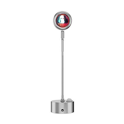 Projektionslampe Projektor Elektrisch LED-Projektor Projektorlampe mit rotierender Atmosphäre für Familienfeiern Wohnzimmer Schlafzimmer