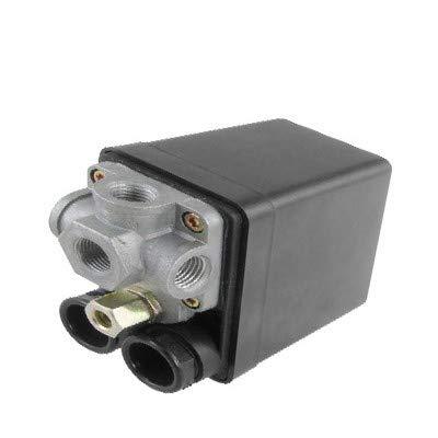 New Lon0167 AC 240V Destacados 20A 175 PSI eficacia confiable 12 Bar 4 Válvula de control del interruptor de presión del compresor de aire de 4 puertos(id:5e2 f8 c9 8e5)