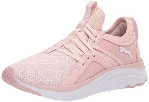 PUMA Women's Softride Sophia Running Shoe, Lotus White, 8