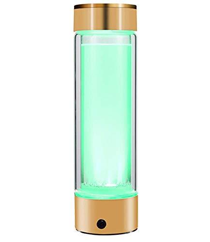 CEXTT Botella de Agua de generador de hidrógeno portátil,