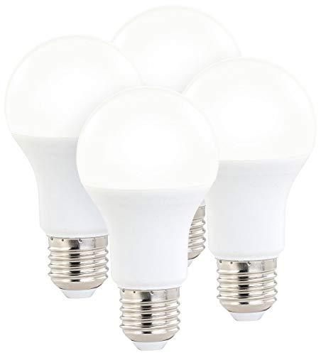 Luminea Glühbirnen dimmbar: 4er-Set LED-Lampen, 3 Helligkeitsstufen, 14 W, 1400 lm, E27, warmweiß (LED Birnen dimmbar)
