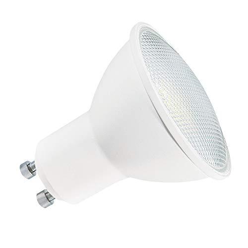 OSRAM LED Base PAR16, Sockel: GU10, Nicht Dimmbar, Warmweiß, Ersetzt eine herkömmliche 80 Watt Lampe, 120 Grad Abstrahlwinkel, 3-er Pack