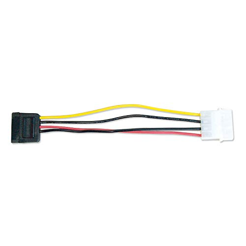 SATA用電源変換ケーブル 12cm OWL-CBPU006