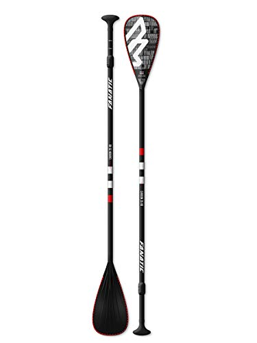 Fanatic Carbon 25 verstellbares SUP Stand Up Paddle Boarding Paddel - Schwarz...