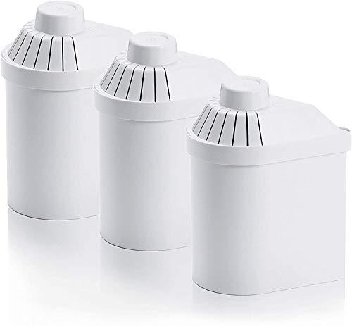 3 filtros para purificar, ionizar y alcalinizar agua para Jarra Alkanatur gotas / Jarra Drops
