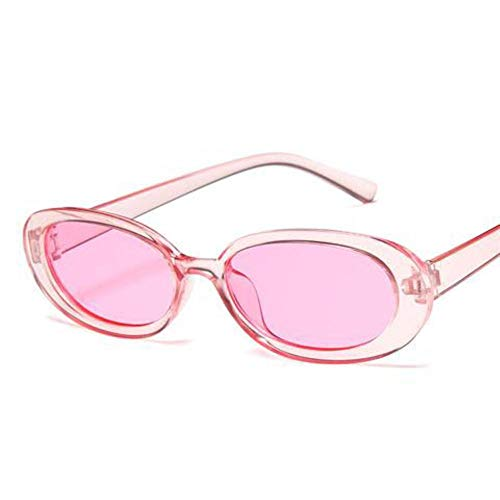 XCVB Dames koe kleur licht comfortabele bril modetrend persoonlijkheid kleine doos zonnebril, C5
