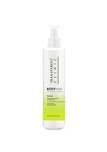 Transparent Clinic – Body Milk Sensations – Emulsion Corporelle antioxydant Baobab – 250 ml