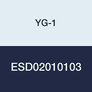 Regular Length 2 Length YG-Tylon E Finish 3 Flute YG-1 56561TE CarbideHOSS Jet-Power Corner Radius End Mill 5//32 35 Degree Helix