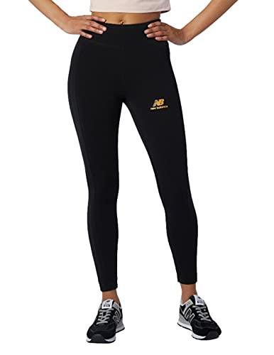 New Balance Athletics Higher Learning Legging Leggings, Negro, M para Mujer