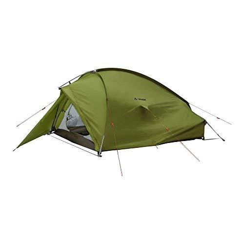 VAUDE 3-personen-zelt Taurus 3P, 3 Personen Kuppelzelt für Camping oder Wandertouren, leicht aufzubauen, mossy green, one Size, 114991480