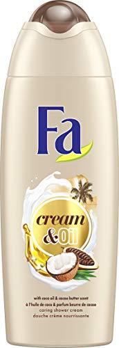 Fa - Gel Douche - Cream & Oil - Huile de Coco & Parfum Beurre de Cacao - 250 ml