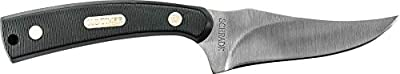 Old Timer 152OT Sharpfinger 7.1in S.S. Full Tang Fixed Blade Knife with 3.3in Clip Point Skinner Blade and Sawcut Handle for Outdoor, Hunting and Camping