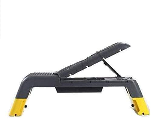 Candtong Gewichtheben Bett, multifunktional Verstellbarer Hantel Stuhl, nach Hause Fitnessgeräte, Bankdrücken, Bauch- und Rückenmuskelkrafttraining