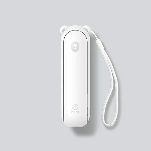 Tragbarer Kleiner Leiser USB-Lüfter Kinderfan Elektrischer Handventilator Traveller Personal Office Fan, Geeignet Für Verschiedene Lebensszenarien,Weiß