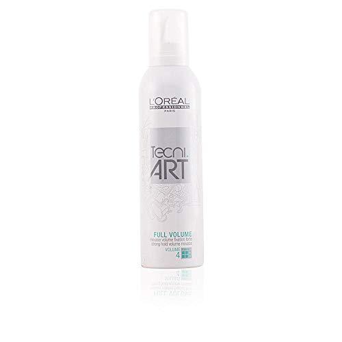 L'Oreal Tecni Art Full Volume - Espuma para volumen 4, 250 ml (1 unidad)