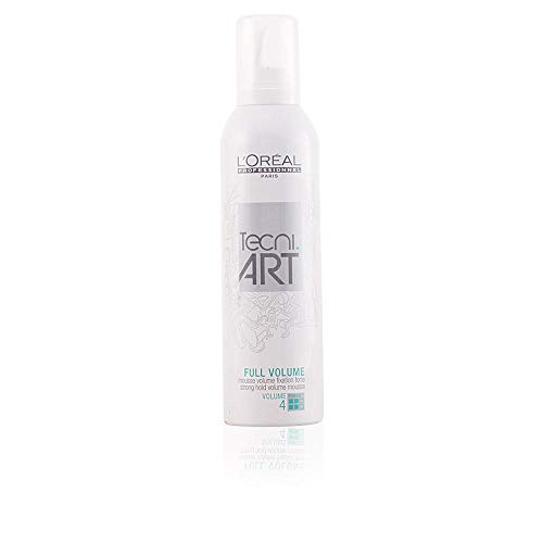 L\'Oreal Tecni Art Full Volume - Espuma para volumen 4, 250 ml (1 unidad)
