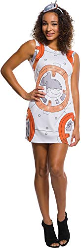 Rubie's adult Star Wars Vii: the Force Awakens Bb-8 Rhinestone Tank Dress Sized Costume, Multi, Medium US