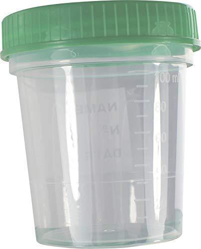 Urinbecher Schraubdeckel 1 - Probebecher Kunststoffbecher