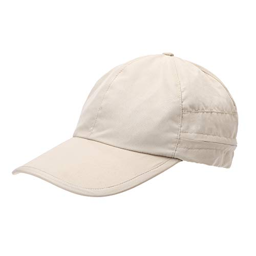 UV-Protect-Schutz-Mützen Caps Flat-Cap Sonnenhut UV-40+-Sonnenschutz Kopfbedeckung mit Sonnenschutz,XS-S,198010-Beige