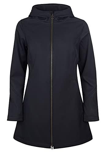 ELKLINE Damen Softshelljacke Soft Skills 2013052, Farbe:black, Größe:50
