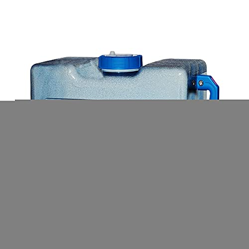 TeeTree Bidón de Agua Potable portátil, bidón de Agua, 6~18L con Grifo de Comida de Boca Ancha Gratis para Acampar Coche Azul portátil Adecuado para Acampar y Conducir al Aire Libre