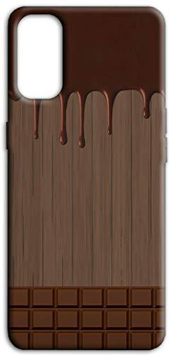 Mixroom - Cover Custodia Back Case in TPU Silicone Morbida per Xiaomi Redmi Note 10 PRO Fantasia Tavoletta di Cioccolata Sciolta M733