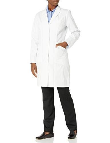 Dickies EDS Professional Whites - Abrigo de Laboratorio para Mujer (94 cm), Blanco, L