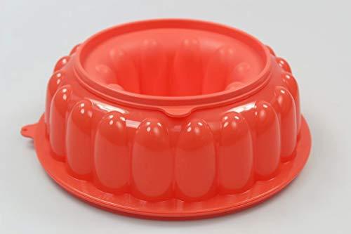 Tupperware Molde de pudin Color Salmon 37978
