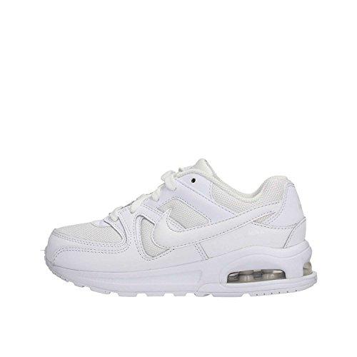 Nike Jungen AIR MAX Command Flex (PS) Laufschuhe, Weiß (White/White-White 101), 30 EU