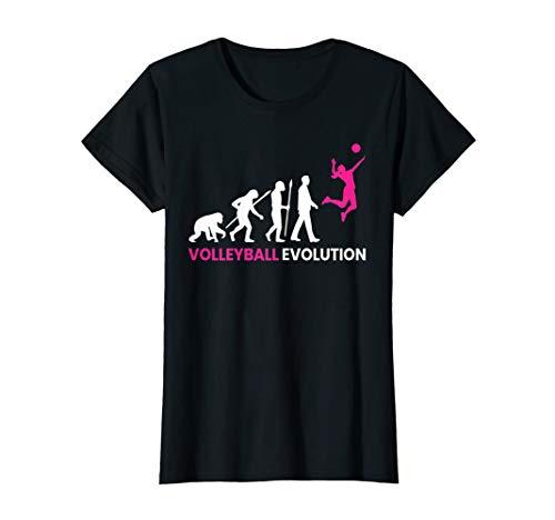 Evolution Volleyball-Spieler Volleyball Team Geschenk T-Shirt