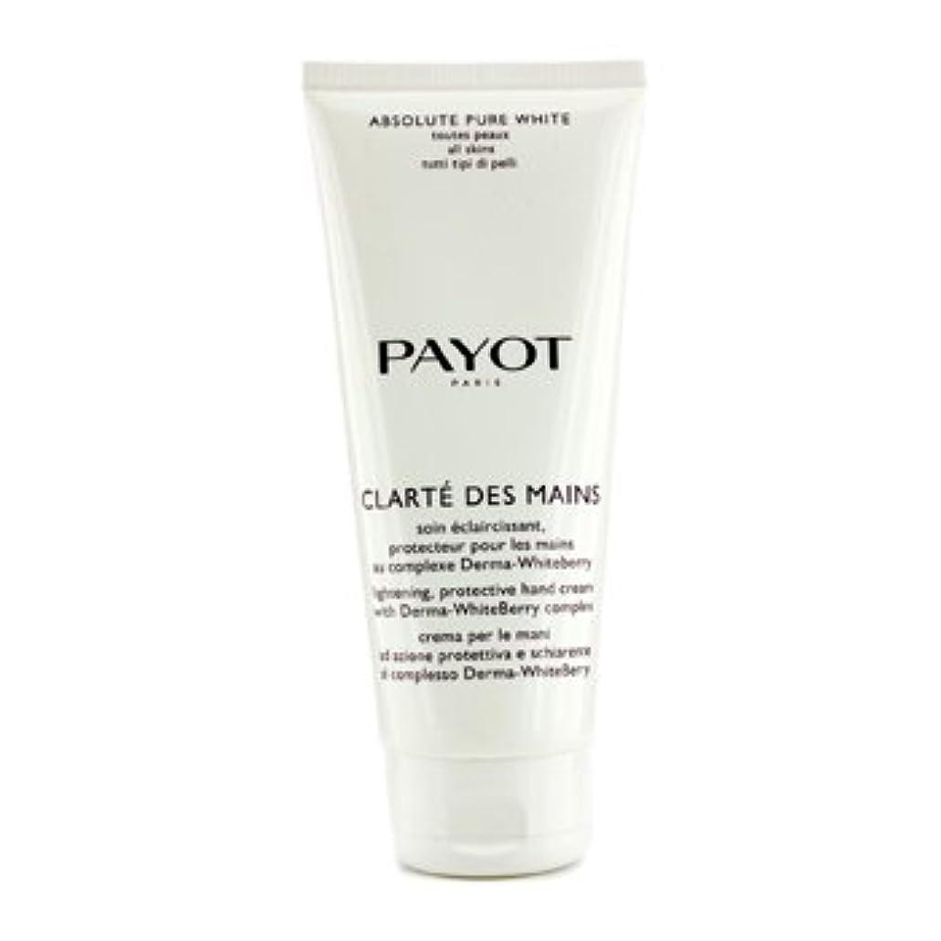 タワーアルプス健康[Payot] Absolute Pure White Clarte Des Mains Lightening Protective Hand Cream (Salon Size) 200ml/6.7oz