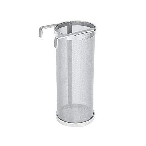 Edelstahl 300 Mikron Hopfenfilter mit Haken Wasserkocher Brühsieb verwendet für das heimische Bierbrauen