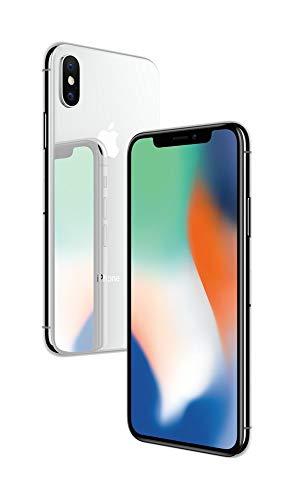 Apple iPhone X (Silver, 3GB RAM, 64GB Storage, 12 MP Dual Camera, 458 PPI Display)