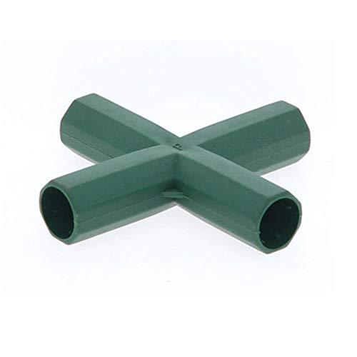 Steckverbinder für Gewächshäuser, 3/4/5 Wege, 16MM, PVC, 10 Stück