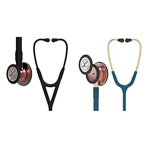 3M Littmann Cardiology IV Diagnostic Stethoscope, Rainbow-Finish Chest...