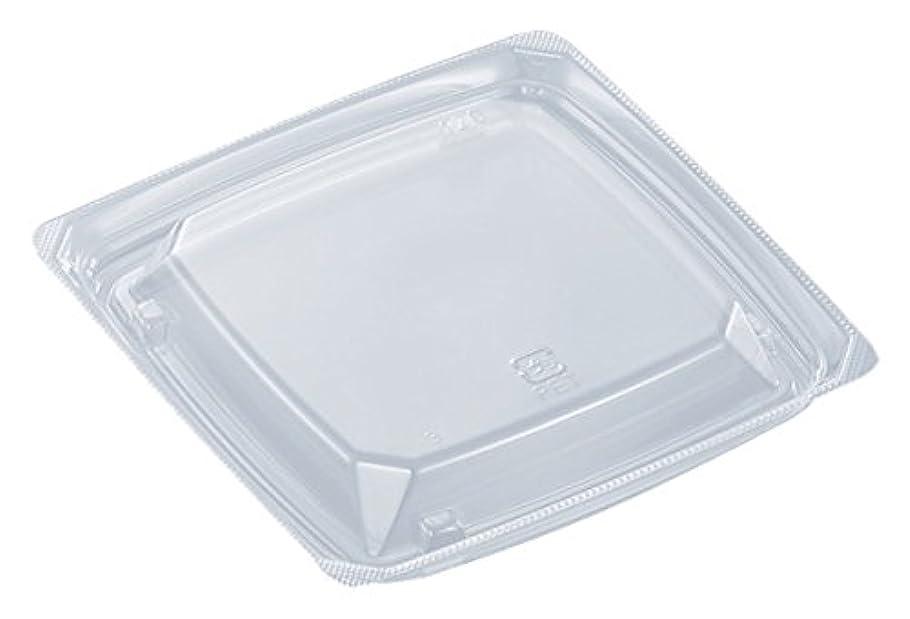 一過性必要条件ねじれ中央化学 使い捨て容器蓋 C-APドルチェ 120 浅蓋 50枚入サイズ:約11.6×11.6×1.7cm