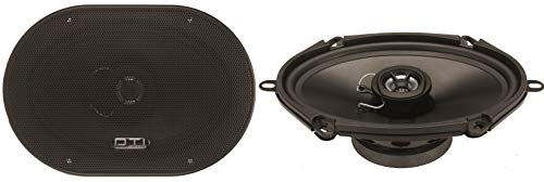 DTI Audio DS5760 5' X 7'/ 6' X 8' 2-Way 180 Watts Coaxial Car Audio Stereo Speakers Black
