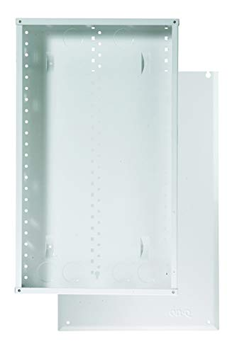 On-Q EN2000 EN 20 Gauge CRS Enclosure with Screw-On Cover, Glossy White