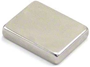 first4magnets F25205-1 25 x 20 x 5 mm con texto en ingl/és N42 im/án de neodimio con 9,9 kg tirador