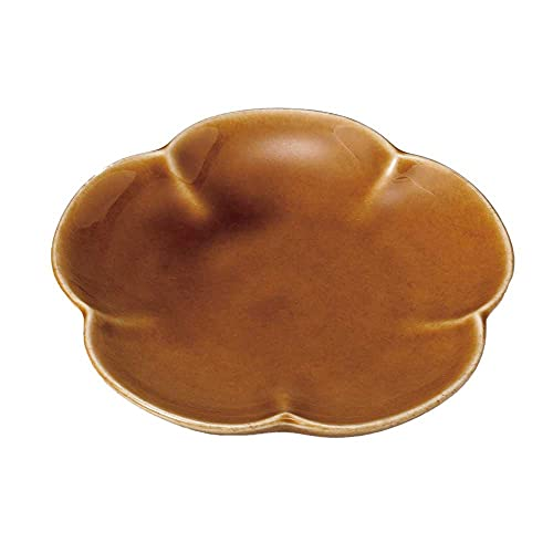 小皿 醤油皿/七色小皿(花/アメ) /刺身 お新香 梅干し 珍味 陶器 業務用 家庭用 Small sized Plate