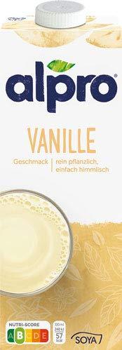 Alpro Soya Drink Vanille - 8x 1 Liter