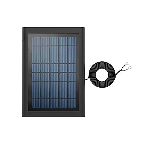Wir stellen vor: Ring Solarpanel für Ring Video Doorbell 2, Ring Video Doorbell 3, Ring Video Doorbell 3 Plus und Ring Video Doorbell 4 von Amazon | Schwarz