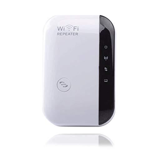 2 stuks wifi-extender adapter signaalversterker internet lange reikwijdte met draadloze digitale repeater eenvoudige configuratie WLAN 2,4 g N300 met WPS-functie