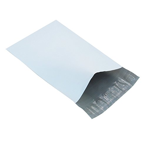 Progo Self-Seal Poly Mailers, Tear Proof, Water Resistant and Postage Saving Lightweight Plastic Shipping Envelopes/Bags, 100 Ct