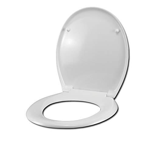 Abattant WC SCULTURE HATRIA compatible laqu/é blanc brillant polyester