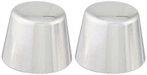 Kuryakyn 1213 Motorcycle Accent Accessory: Front End Axle Nut Caps for 2000-07 Harley-Davidson Motorcycles, Chrome, 1 Pair