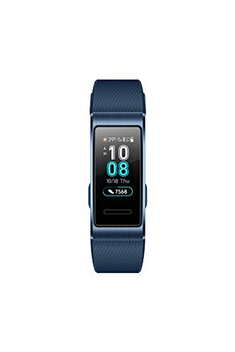 Huawei Band 3 Pro Smart Band with Built-in GPS (Blue)