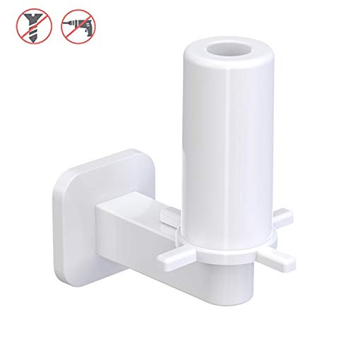 RAIKEDR Self Adhesive Toilet Paper Holder, Paper Towel Holder - Bathroom Toilet Paper Holder Stand - Easy Installation No Drilling (White)