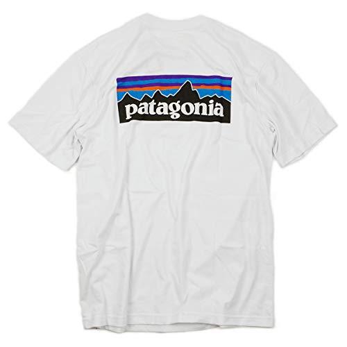 [パタゴニア] patagonia 半袖 Tシャツ P-6 ロゴ レスポンシビリティー ホワイト[WHI] XL