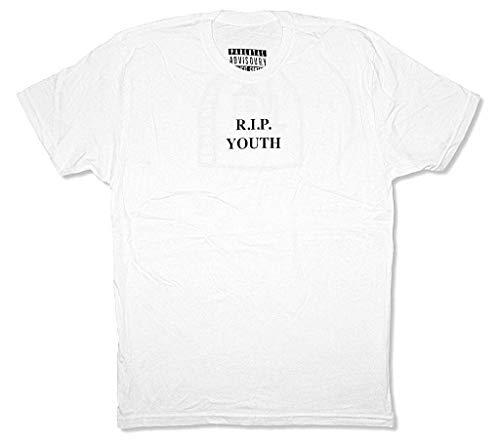 NBHD The Neighbourhood R.I.P. RIP Youth White T Shirt New Band Merch